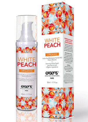 Warming White Peach Organic Gourmet Oil