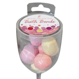 Wine Scented Bath Bombs