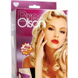 Bree Olson Glitter Glam Strap-On Harness & Dong