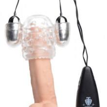 Trinity Vibes Dual Vibrating Penis Head Teaser