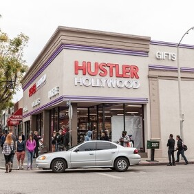 Hustler Hollywood Grand Opening