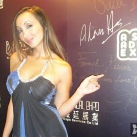 Katsuni Appears at Asia Adult Expo in Macau