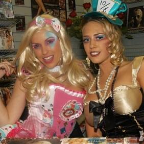 Zero Tolerance Girls at Romantix in North Hollywood