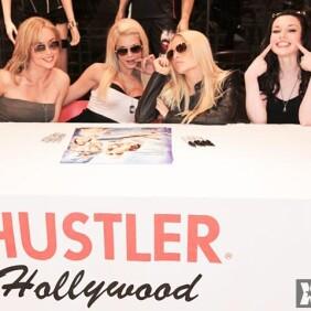 'Top Guns' Stars at Hustler Hollywood