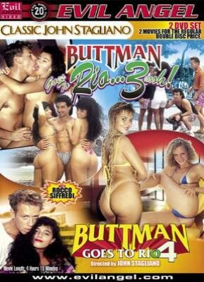 Buttman Goes To Rio 3 and 4