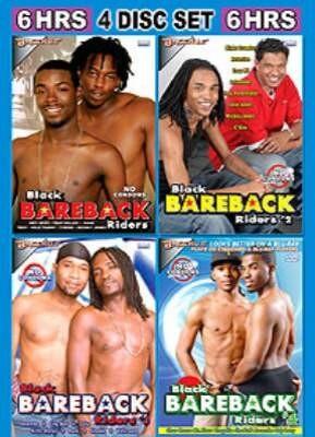 4-Pack Black Bareback Party 1
