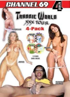 Trannie World XXX Tour 4 Pack