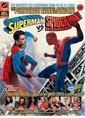 Superman Vs Spider-Man XXX An Axel Braun Parody