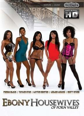 Ebony Housewives of Porn Valley