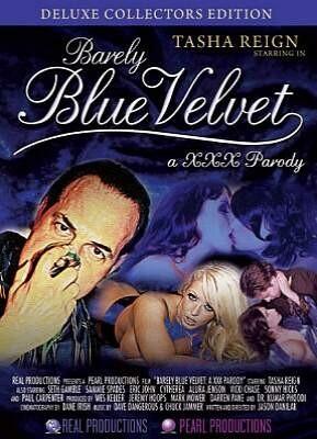 Barely Blue Velvet