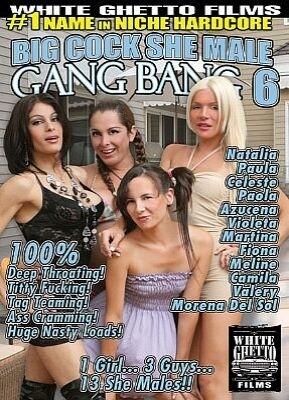 Big Cock She Male Gang Bang 6