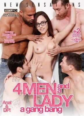4 Men And A Lady - A Gang Bang