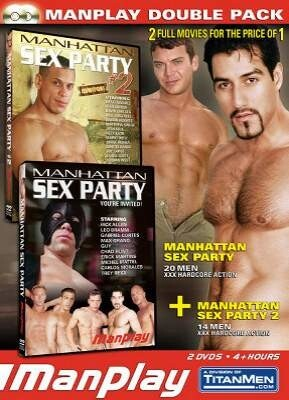 ManPlay Double Pack - Manhattan Sex Party 1 & 2